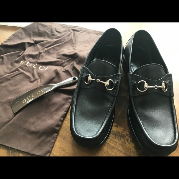 c89bfafaa Gucci Other - Gucci Men's Horsebit Loafers. Size 9 1/2 (9+